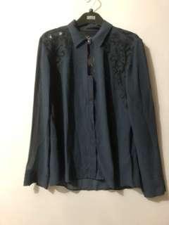 Guess blouse bordir original