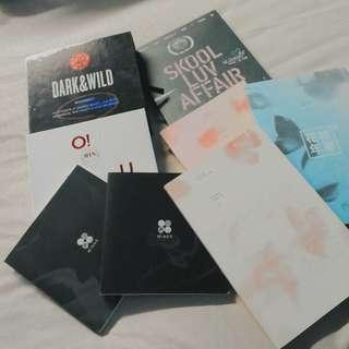 [WTS FAST] OFFICIAL BTS ALBUM