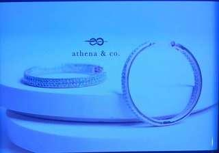 Athena & Co. 18k Gold Plated Piper Inside Out Hoop Earrings