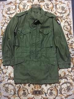 🚚 韓戰美軍公發品m-1951 field jacket size:S-R