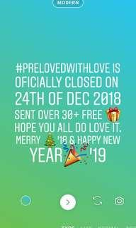 #prelovedwithlove CLOSED! BLESS YOU🙏