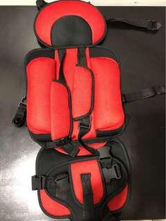 Carseat/stroller cushion for toddler
