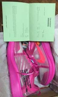 zoomfly off white