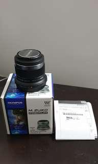 Olympus 45mm f/1.8 (New) + perfect condition