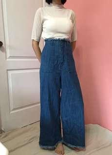 Lowrysfarm高腰寬褲