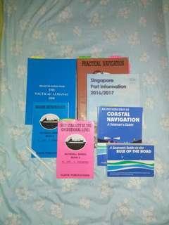 Marine Maritime Studies book ocean coastal navigation Singapore port information rules of the road Ship knowledge meteorology
