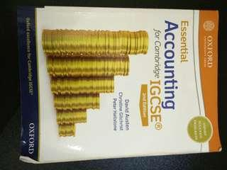 Essential Accounting for Cambridge IGCSE 2nd Edition