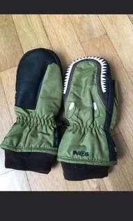 Thermal Dino-themed Winter/Ski Gloves