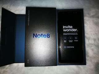 Samsung Note 8 64GB Openline Midnight Black
