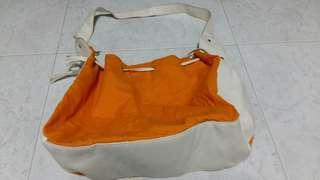 Orange slingbag