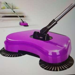 Wonder Sweeper Spin Broom and Dust Pan All in One