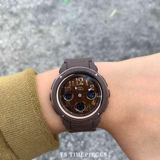 Casio Watch Baby-G Ladies  chocolate Color BGA-150 BGA-150PG and BGA-150PG-5B2