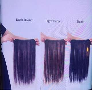 Korean Straight Long Hair Extension Clip On