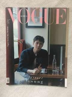EXO Sehun Vogue Magazine