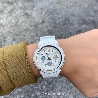 Casio Watch Baby-G Analog / Digital White / Gold BGA-150 BGA-151 and BGA-151-7