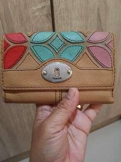 Preloved FOSSIL wallet authentic with tag