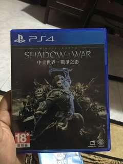 (Used PS4 game) shadow of War