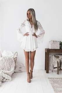 Alyse Dress Small white