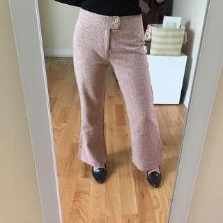 Light pink work pants