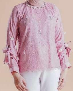 Sewa / Rental Kebaya Bari Attire Pink Ayla