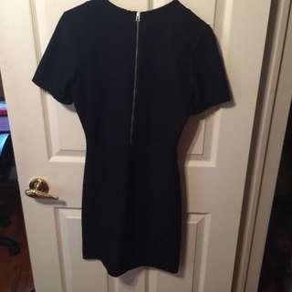 EUC Wilfred Black Sz Medium Lace Dress