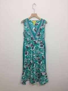 Catherine Malandrino watercolour printed silk dress 4