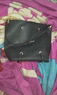 Hand bag tote bag hitam black