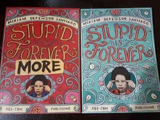 Stupid is Forever Book 1 and 2