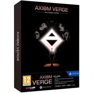 PS4 AXIOM VERGE MULTIVERSE EDITION (R2 EUR)