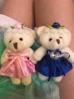 Boneka couple teddy bear