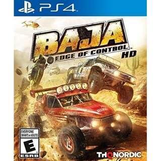 PS4 BAJA : EDGE OF CONTROL HD (R2 EUR)