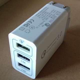 🚚 QC3.0+2.4A充電器(專屬cris_ian01)