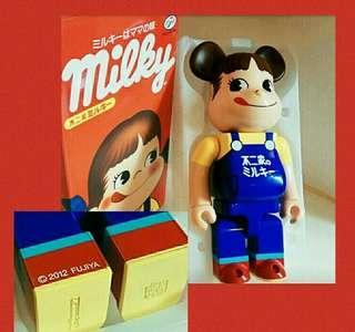 罕有绝版2012年,第一彈Medicom Toy Bearbrick 400% 牛奶妹 (珍藏品)