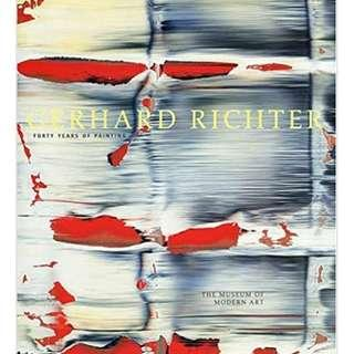 Gerhard Richter ~ Forty Years of Painting (Hardcover 2002 First Edition Moma Exhibition Collector's Edition)