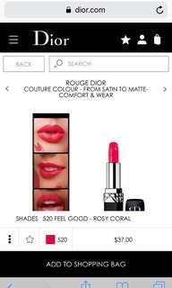 Dior Rouge - 520 Feel Good