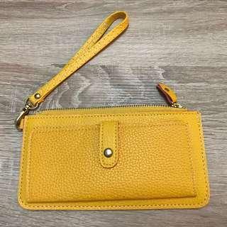 🚚 皮夾,護照夾 - 黃