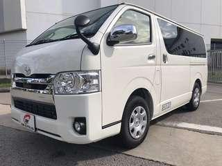 NEW 2.8A HIACE SUPER GL (G Plate & PC Plate)