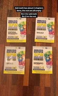 SPM Workbooks