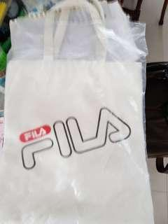 FILA Tote White with inner lining