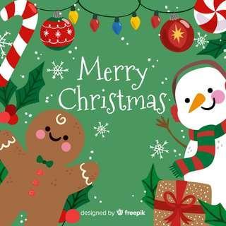 Merry Christmas! ☃️🎄🎊