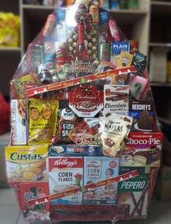 Parcel makanan untuk natal, lebaran dan hari raya