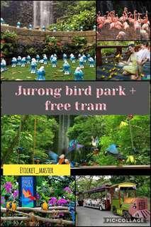 JURONG BIRD PARK + FREE TRAM