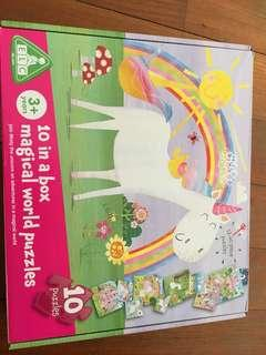ELC 10 in a box magical world puzzles