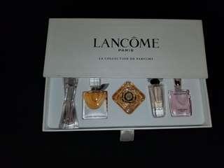 Lancome perfume collection