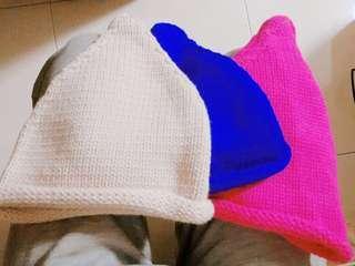 降價👏立型針織帽