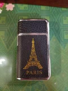 法國巴黎鐵塔黑色皮火機