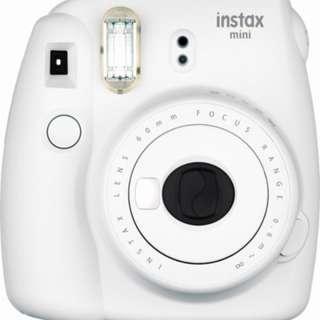 BNIB: Fujifilm Instax Mini 9 Instant Camera (Smokey White)