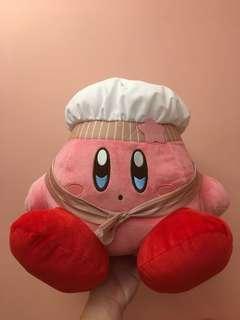 星之卡比 Kirby 公仔 廚師造型