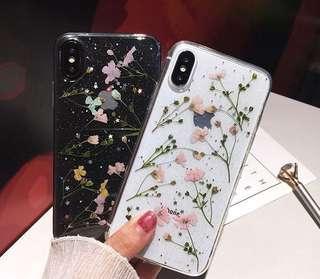 [Pre-Order] Dried Flowers Glitter Phone Case