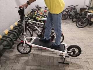 戶外自行修身車